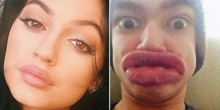 Kylie-Jenner-lip-challenge-funny