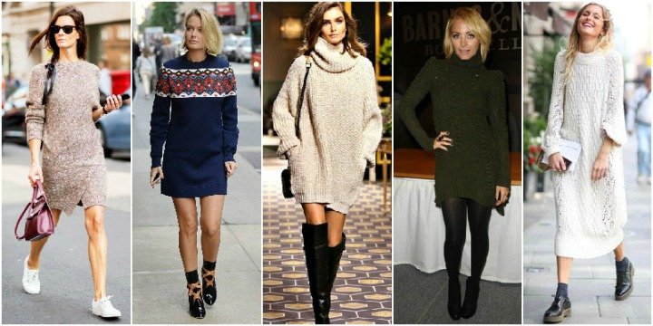 6.Knitted-Jumper-Dress-Winter-Wadrobe-Essentials
