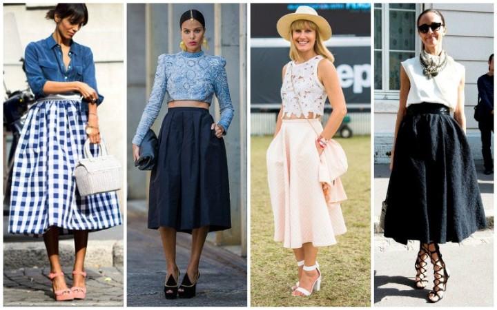 Polo-A-Line-Skirts
